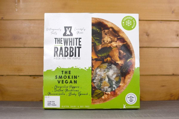 The White Rabbit The Smokin Vegan Pizza 353g Freezer > Ready-Made Meals