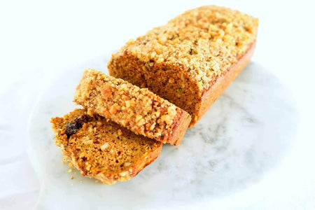 The Whole Kitchen Carrot Ginger Chai Loaf 600g Bakery > Cakes & More
