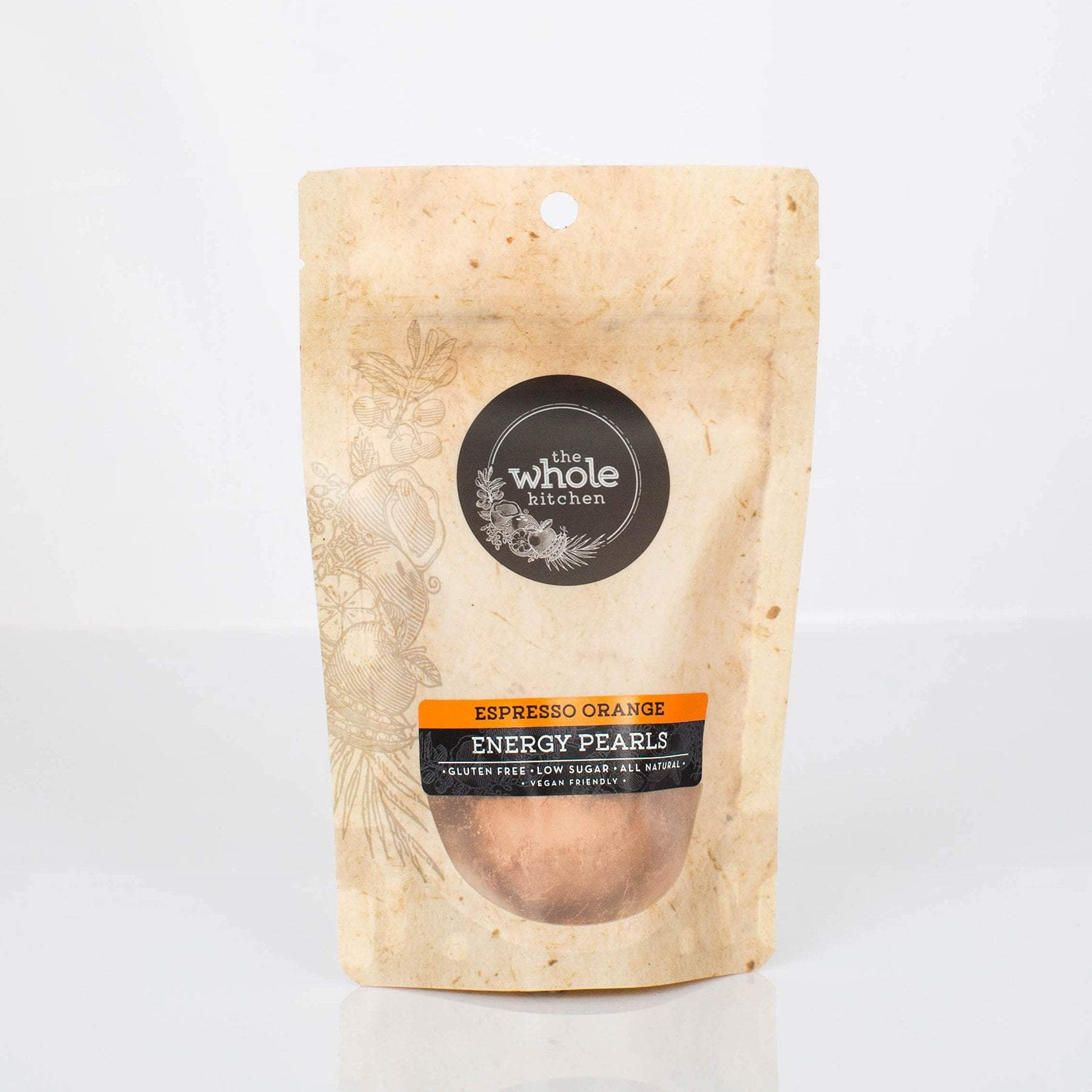 The Whole Kitchen Espresso Orange Energy Pearls (2 pack) To Go > Ready to Eat