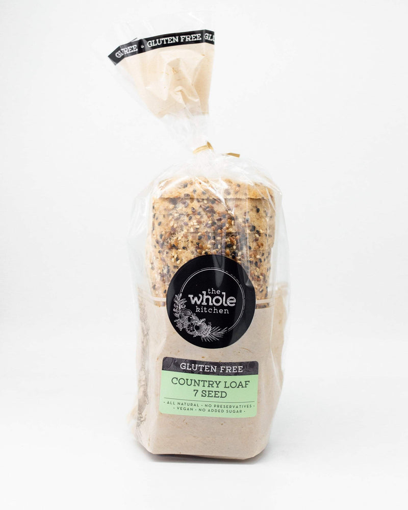 The Whole Kitchen Gluten Free 7 Seed Country Loaf Bakery > Bread