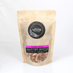 The Whole Kitchen Grain Free Cashew Cacao 350g Pantry > Granola, Cereal, Oats & Bars