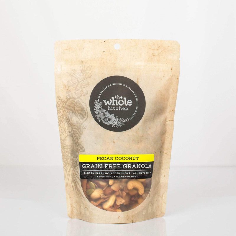 The Whole Kitchen Grain Free Pecan Coconut 350g Pantry > Granola, Cereal, Oats & Bars