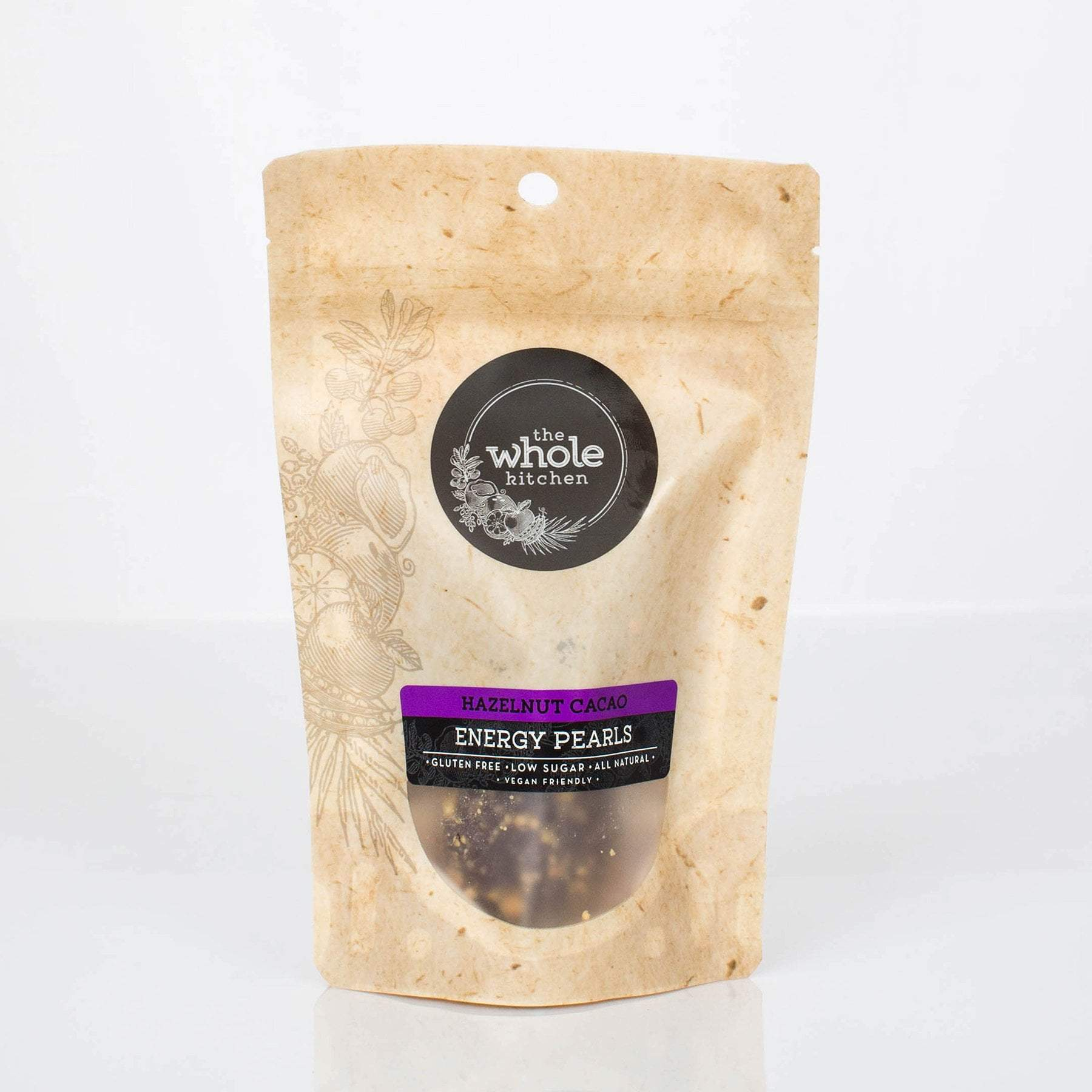 The Whole Kitchen Hazelnut Cacao Energy Pearls (2 pack) To Go > Ready to Eat