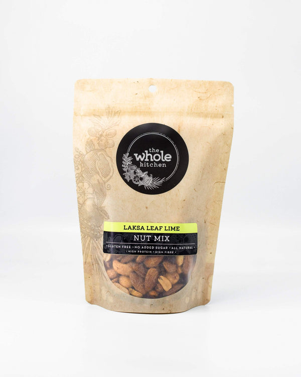 The Whole Kitchen Laksa Leaf Lime Nuts 270g Pantry > Dried Fruit & Nuts