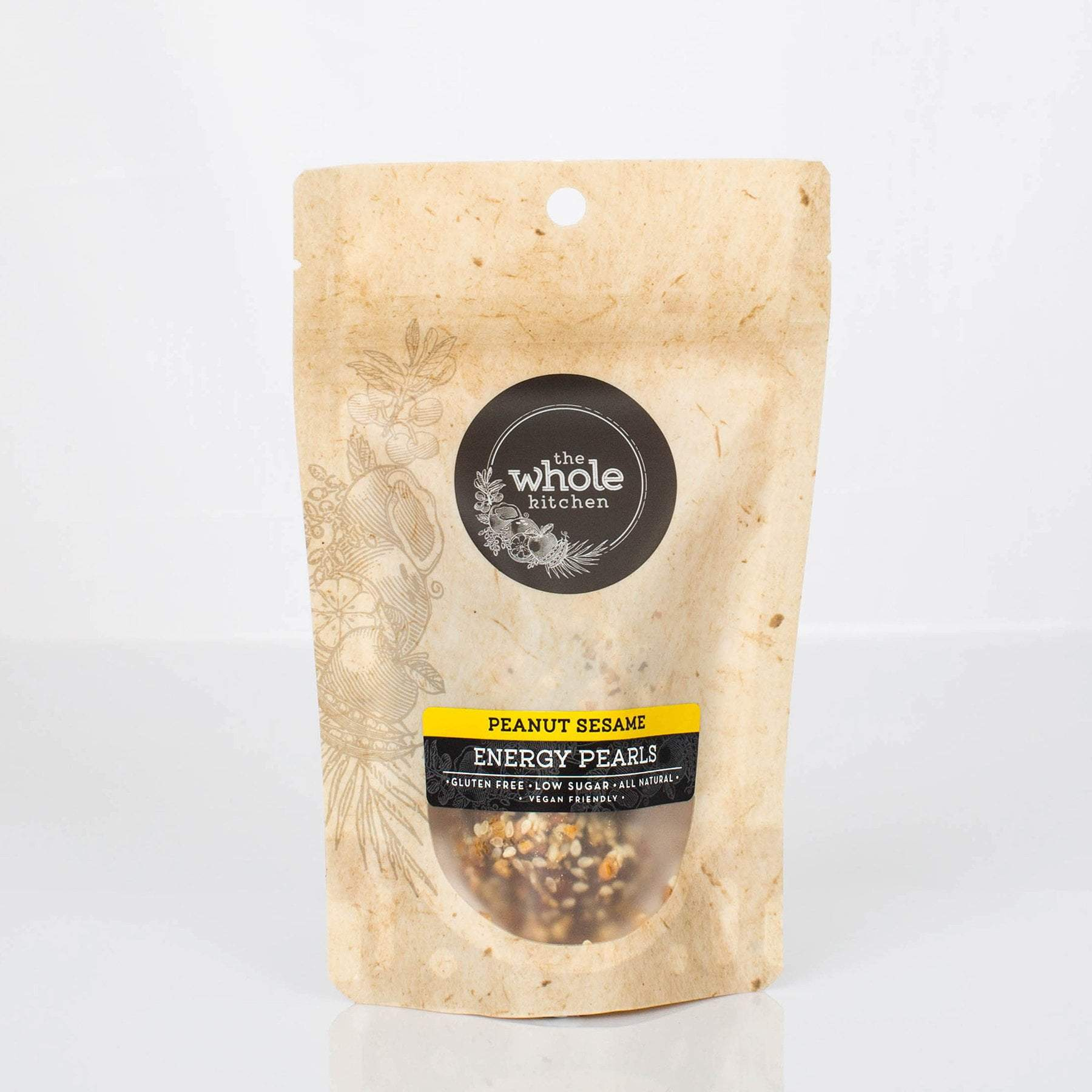 The Whole Kitchen Peanut Sesame Energy Pearls (2 pack) To Go > Ready to Eat
