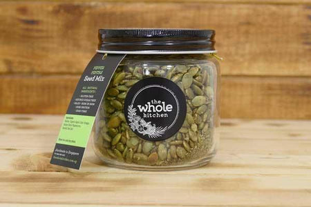 The Whole Kitchen Pepper Pepitas Gift Jar Pantry > Dried Fruit & Nuts