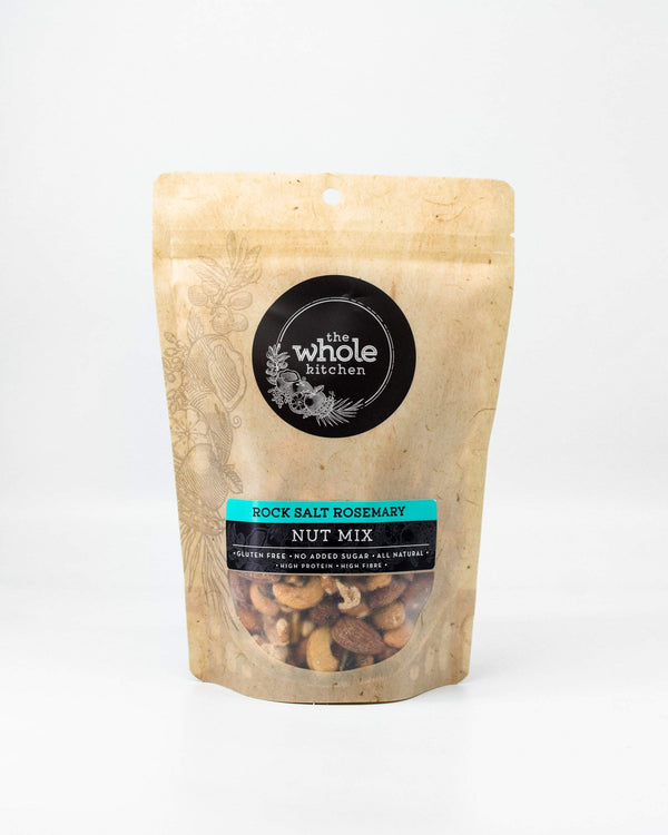 The Whole Kitchen Rock Salt Rosemary Nut 270g Pantry > Dried Fruit & Nuts
