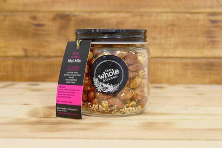 The Whole Kitchen Spicy Tamari Gift Jar Pantry > Dried Fruit & Nuts