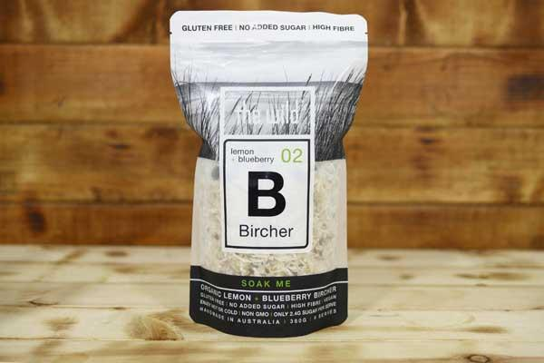 The Wild Lemon & Blueberry Bircher 360g Pantry > Granola, Cereal, Oats & Bars