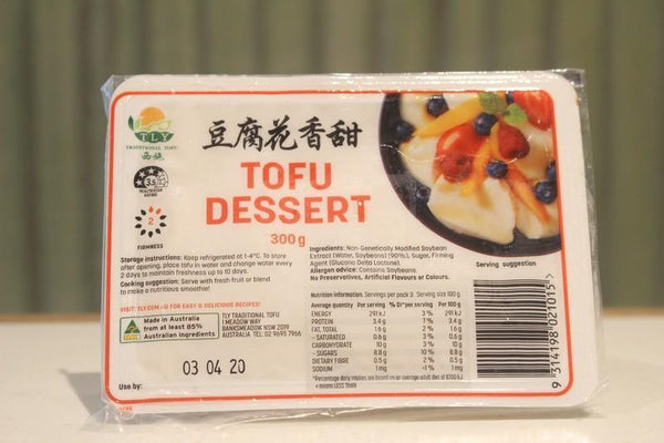 TLY Tofu Dessert 300g Dairy & Eggs > Dairy Alternatives