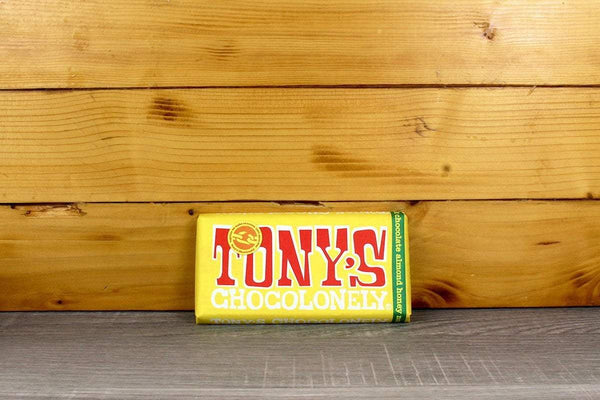 Tony's Chocolonely Milk Chocolate Almond Honey Nougat 180g Pantry > Confectionery
