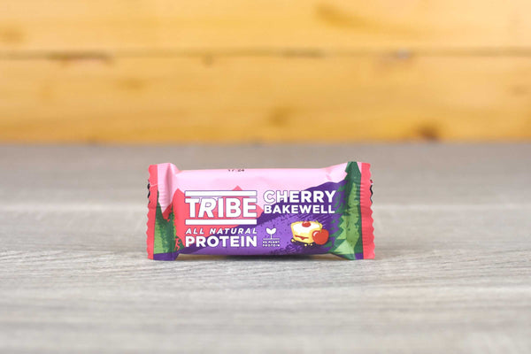 Tribe Cherry Bakewell Protein Bar 58g Pantry > Cookies, Biscuits & Sweet Snacks