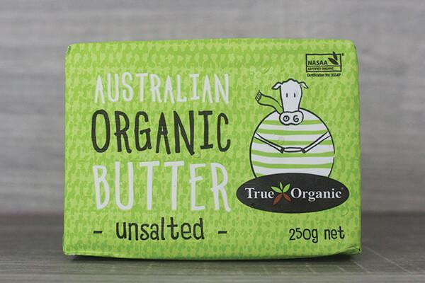 True Organic TO Unsalted Butter True Organic