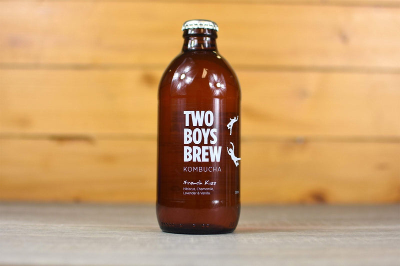 Two Boys Brew French Kiss Kombucha 330ml Drinks > Kombucha & Health Drinks