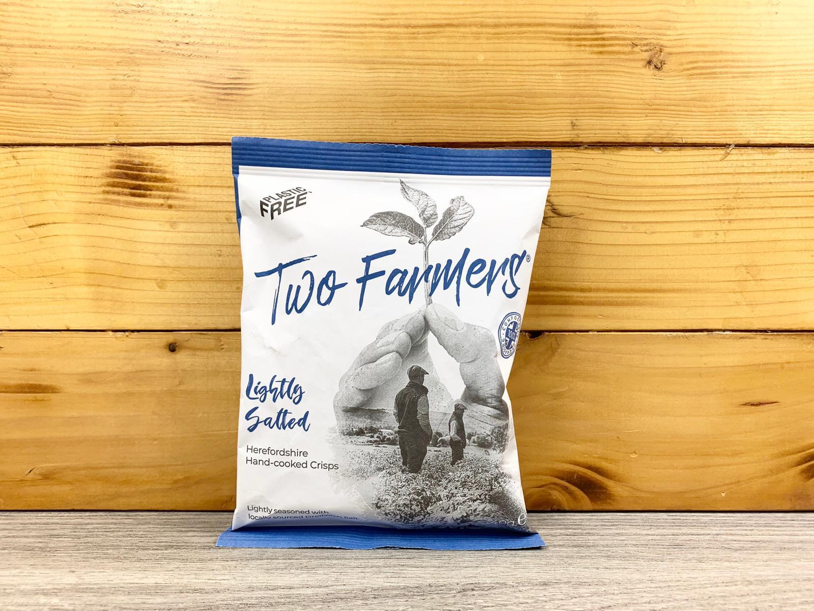 Two Farmers Lightly Salted Chips 40g Pantry > Cookies, Chips & Snacks