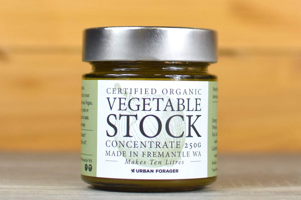 Urban Forager Organic Vegetable Stock Concentrate 250g Pantry > Broths, Soups & Stocks