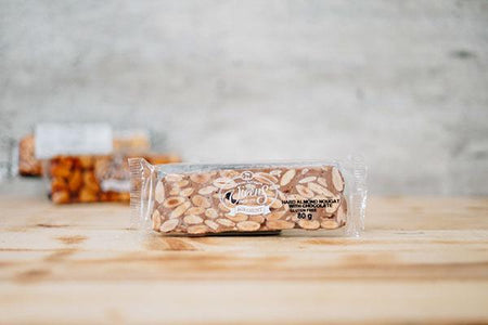 Vicens Chocolate & Almond Nougat Bar 80g Pantry > Confectionery