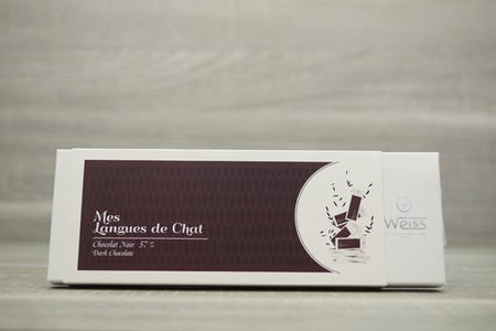 Weiss Dark Chocolate Langues de Chat 150g Pantry > Confectionery