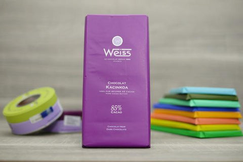 Weiss Kacinkoa 85% Dark Chocolate Bar 100g Pantry > Confectionery