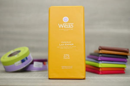 Weiss Milk Chocolate 37% Bar 100g Pantry > Confectionery