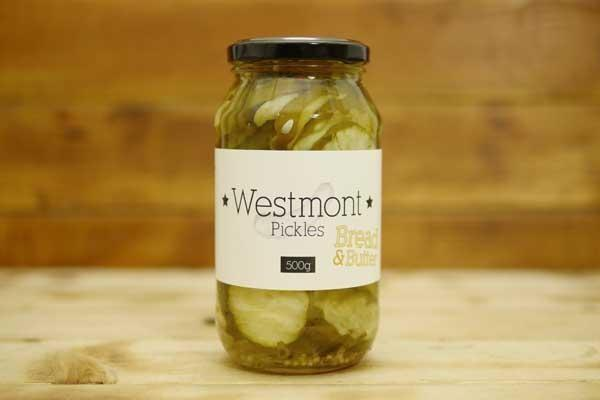 Westmont Pickles Bread & Butter Pickles 500g Pantry > Antipasto, Pickles & Olives