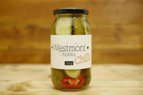 Chilli Pickled Cucumbers 650g