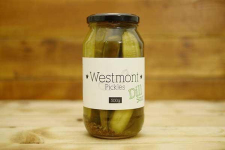 Westmont Pickles Dill Pickles 500g Pantry > Antipasto, Pickles & Olives