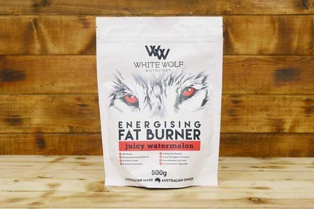 White Wolf Nutrition Energising Fat Burner: Juicy Watermelon 500g Pantry > Protein Powders & Supplements