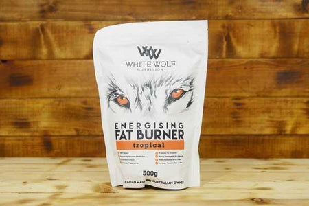 White Wolf Nutrition Energising Fat Burner: Tropical 500g Pantry > Protein Powders & Supplements