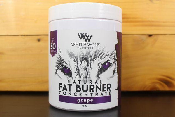 White Wolf Nutrition Grape Fat Burner Concentrate 180g Pantry > Protein Powders & Supplements