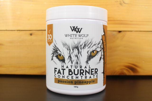 White Wolf Nutrition Passion Pineapple Fat Burner Concentrate 180g Pantry > Protein Powders & Supplements