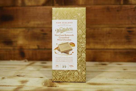 Whittaker's Artisan West Coast Buttermilk Caramelised White Chocolate 100g Pantry > Confectionery
