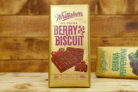 Whittaker's Berry & Biscuit 200g Pantry > Confectionery