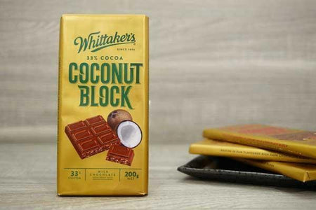 Whittaker's Choc Blk Coconut 200g Pantry > Confectionery