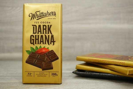 Whittaker's Choc Blk Dark Ghana Pantry > Confectionery