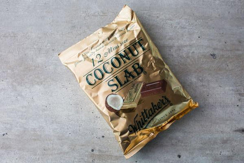 Coconut Slab Chocolate Bar 50g