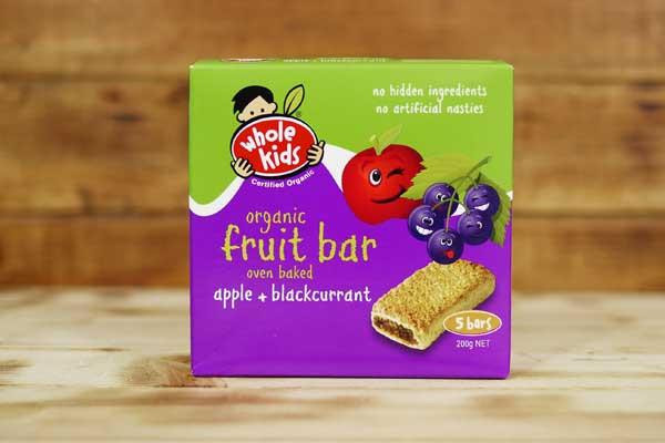 Whole Kids Organic Apple & Blackcurrant Fruit Bar (5 Pack) Pantry > Baby Food & Kids Corner