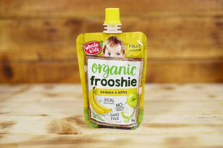 Whole Kids Organic Banana & Apple Frooshie 90g Pantry > Baby Food & Kids Corner