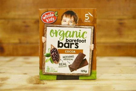 Whole Kids Organic Cocoa Barefoot Bar (5 Pack) Pantry > Baby Food & Kids Corner