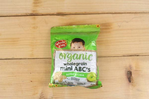 Organic Mini ABC Biscuits Apple Chia (4pk x 30g)