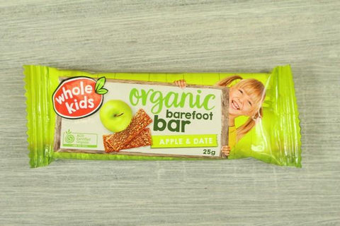 Whole Kids Organic Barefoot Bar Cocoa Single Bar 25g