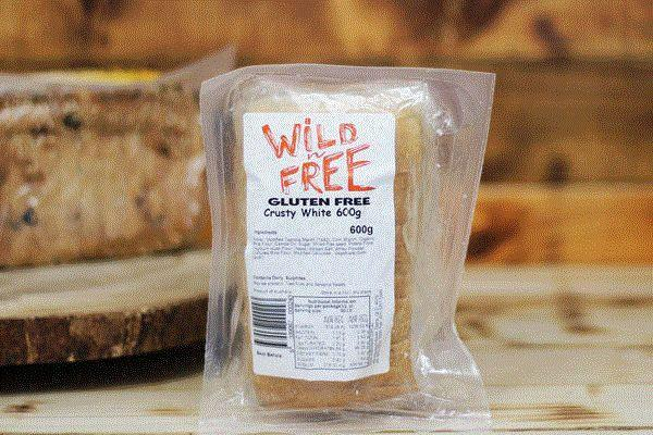 Wild Breads Gluten Free Crusty White Bread 600g* Bakery > Bread