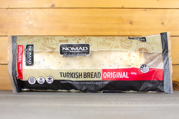 Wild Breads Nomad Turkish Bread 400g Bakery > Bread