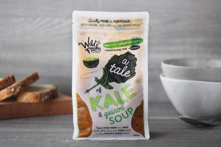 Wild Foodies A Tale of Kale & Quinoa Soup 600g* To Go > Soups & Stews