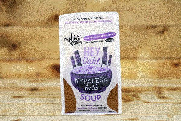 Wild Foodies Hey Dahl Nepalese Lentil Soup 600g* To Go > Soups & Stews