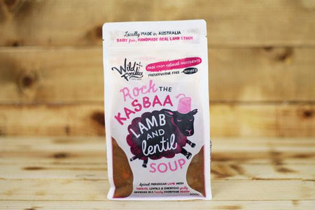 Wild Foodies Rock the Kasbaa Lamb and Lentil Soup 600g* To Go > Soups & Stews