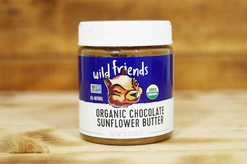 Wild Friends Organic Chocolate Sunflower Seed Butter 283g Pantry > Nut Butters, Honey & Jam