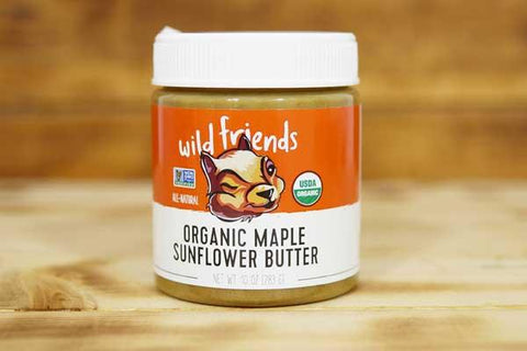 Wild Friends Organic Maple Sunflower Seed Butter 283g Pantry > Nut Butters, Honey & Jam