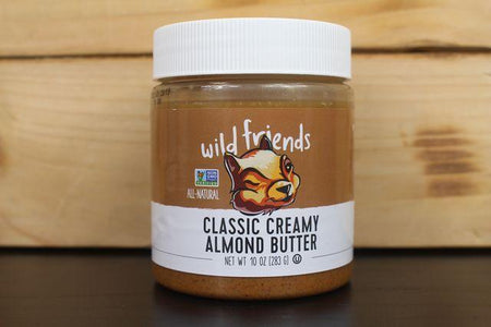 Wild Friends Wild Friends Classic Creamy Peanut Butter 453g Pantry > Nut Butters, Honey & Jam