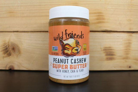 Wild Friends Wild Friends Peanut Cashew Super Butter 453g Pantry > Nut Butters, Honey & Jam